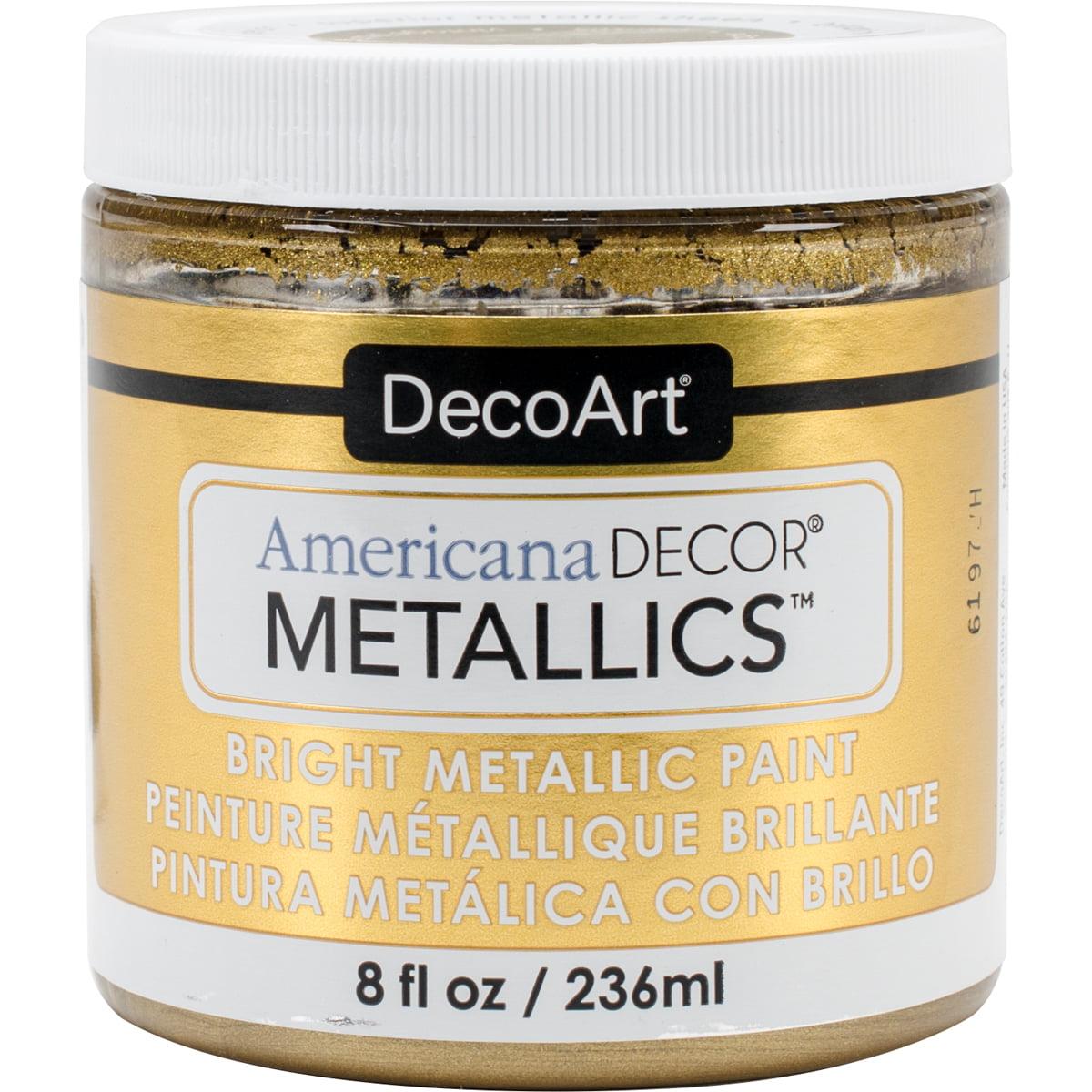 Decoart Americana Decor Metallics 8oz ChampagnGld