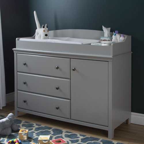 Superbe South Shore Cotton Candy Changing Table