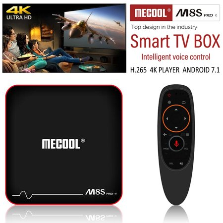 Mecool M8S WIFI TV BOX - PRO W S905W 2GB RAM 16GB ROM Android TV OS Support Voice Input