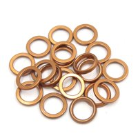 20Pcs 30mm OD Metal Motorcycle Exhaust Pipe Muffler Flange Gasket for GY6 125cc