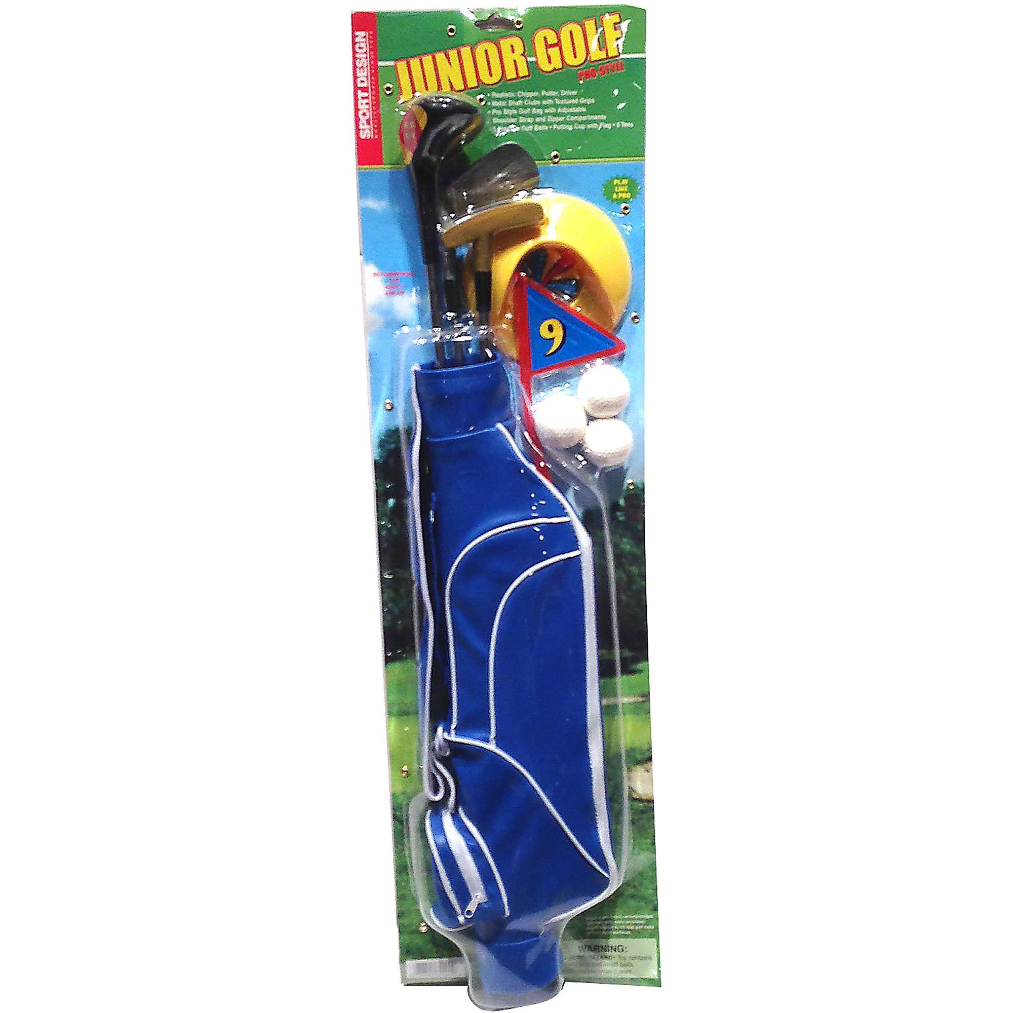 Sport Design Deluxe Junior Golf Club Set by Generic