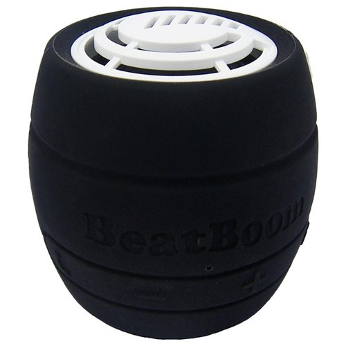 Portable Wireless Bluetooth Speaker with Built in Speakerphone - Black/White