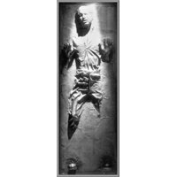 "Star Wars: Episode VI - Return Of The Jedi - Door Movie Poster / Print (Han Solo In Carbonite) (Size: 21"" x 62"")"