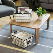 Better Homes & Gardens Small Wire Basket with Chalkboard, 2 Pack