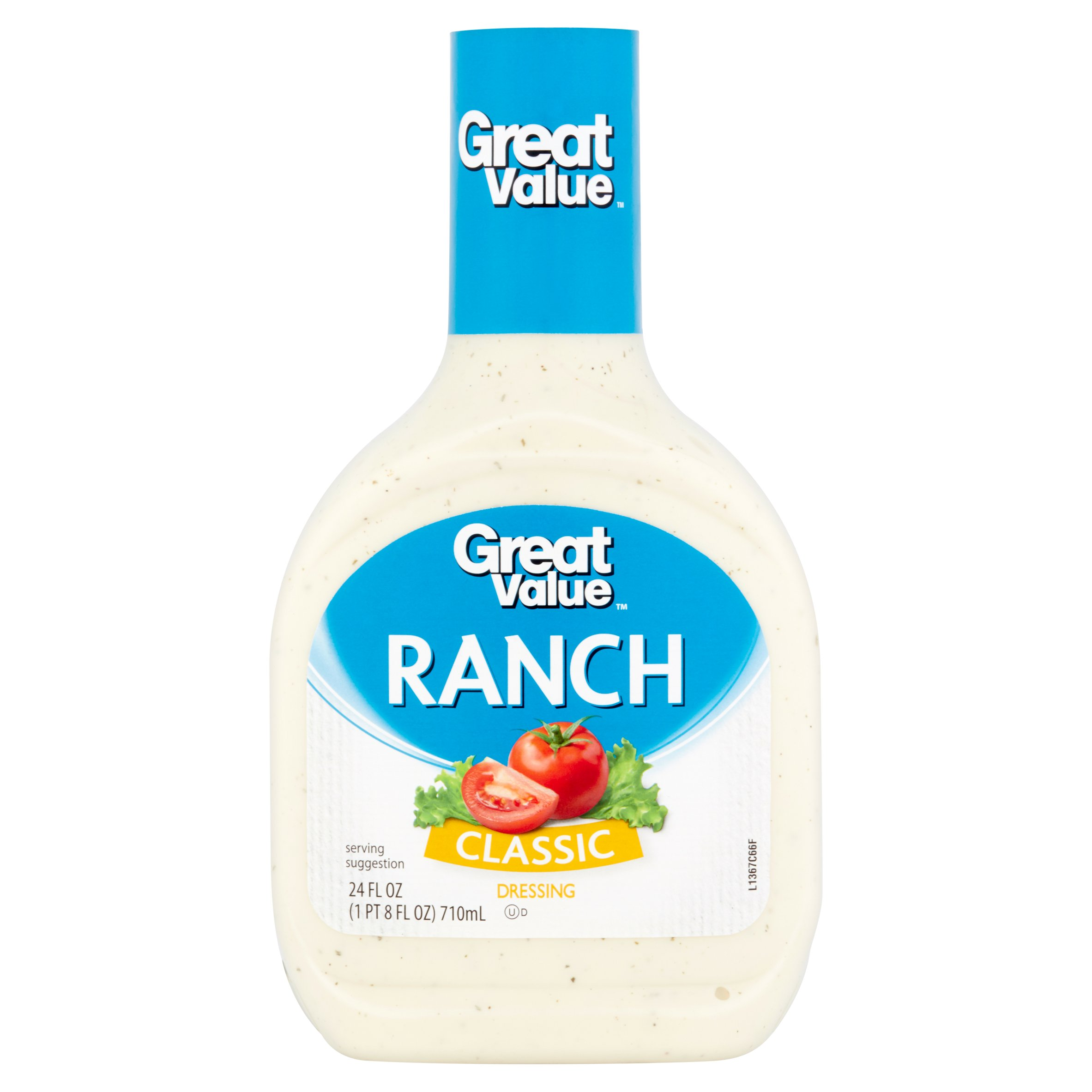 Great Value Classic Ranch Dressing, 24 fl oz