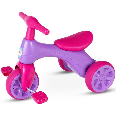 Costway 2 in 1 Toddler Tricycle Balance Bike Scooter Kids Riding Toys w/ Sound & Storage - image 10 of 10