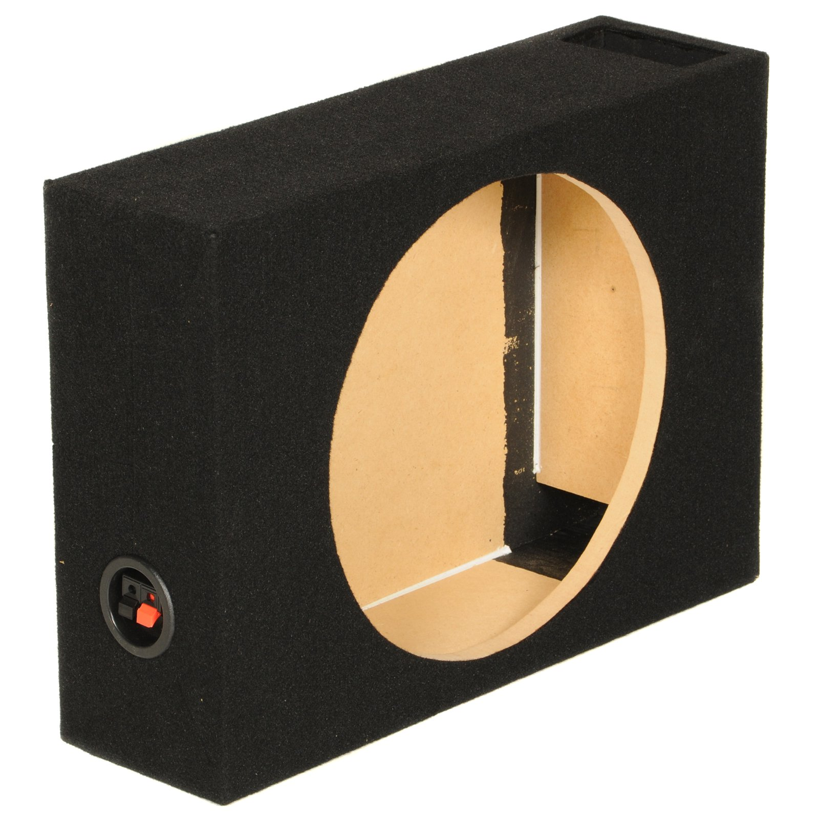 "New Q Power SHALLOW112 Single 12"" Vented Shallow Subwoofer Sub Box Enclosure"