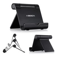 Aibocn Universal Portable Aluminum Stand Holder Mini Retina Nexus Desktop Phone Stand for iPhone Galaxy iPad Tablet
