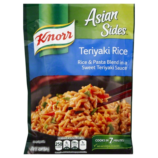 Knorr Asian Teriyaki Rice Side Dish 5.4 oz