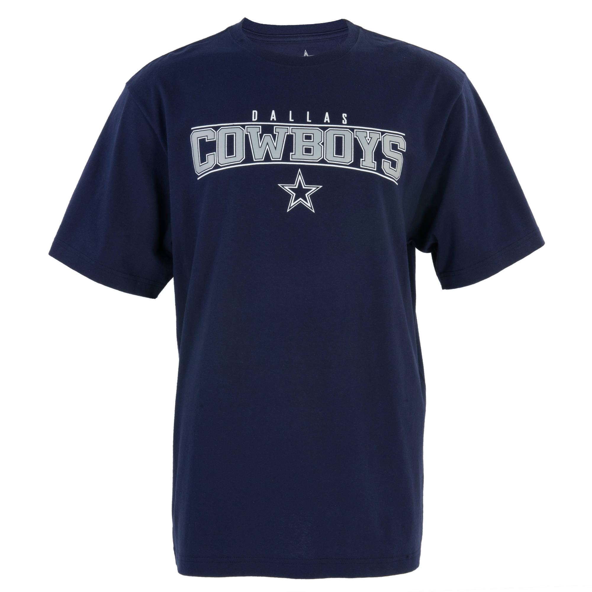 NFL Dallas Cowboys Big Men's Quarter Graphic Tee, 2XL