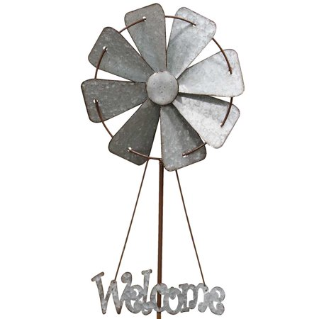 Welcome Windmill Garden Stake (Hearthside Garden)