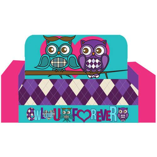 Owl Love You For Ever Kids Flip Sofa