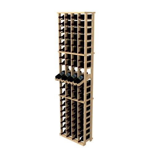 Wine Cellar Innovations Rustic Pine 80 Bottle Wine Rack