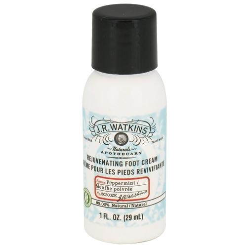 J.R. Watkins Foot Cream - Peppermint - Case of 20 - 1 oz