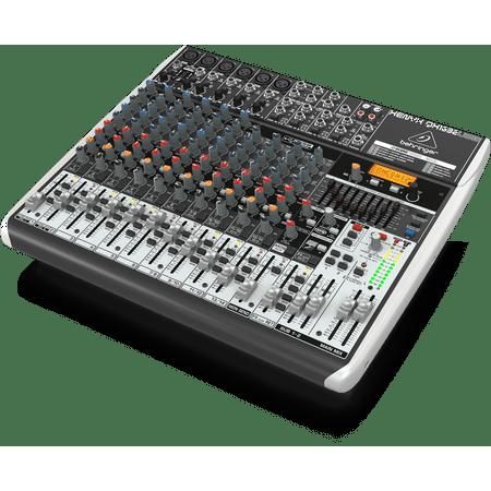 Behringer QX1832USB 18-Input 3/2-Bus USB Mixer w/ XENYX Mic Preamps & Compressors (1 8 Sound Mixer)