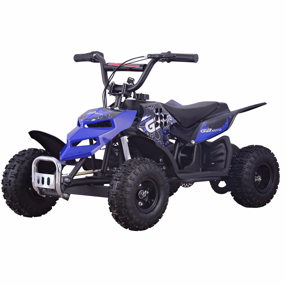 Monster Insect 24V 250W Electric Quad Battery-Powered MINI ATV Kid Ride-on Blue by