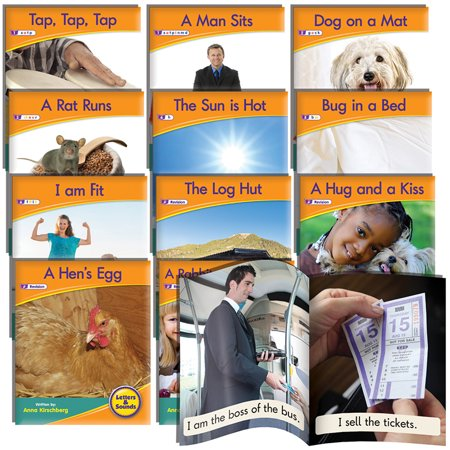 Junior Learning Letter Sound Readers Non-Fiction Learning Set