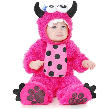 Little Monster Madness Baby Infant Costume Hot Pink - Toddler for $<!---->