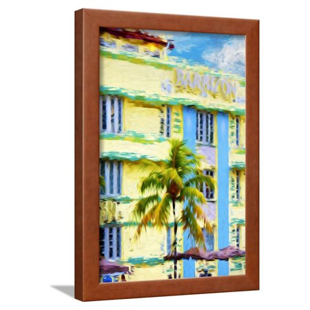 Art Deco - In the Style of Oil Painting Framed Print Wall Art By Philippe Hugonnard](Art Deco Walls)