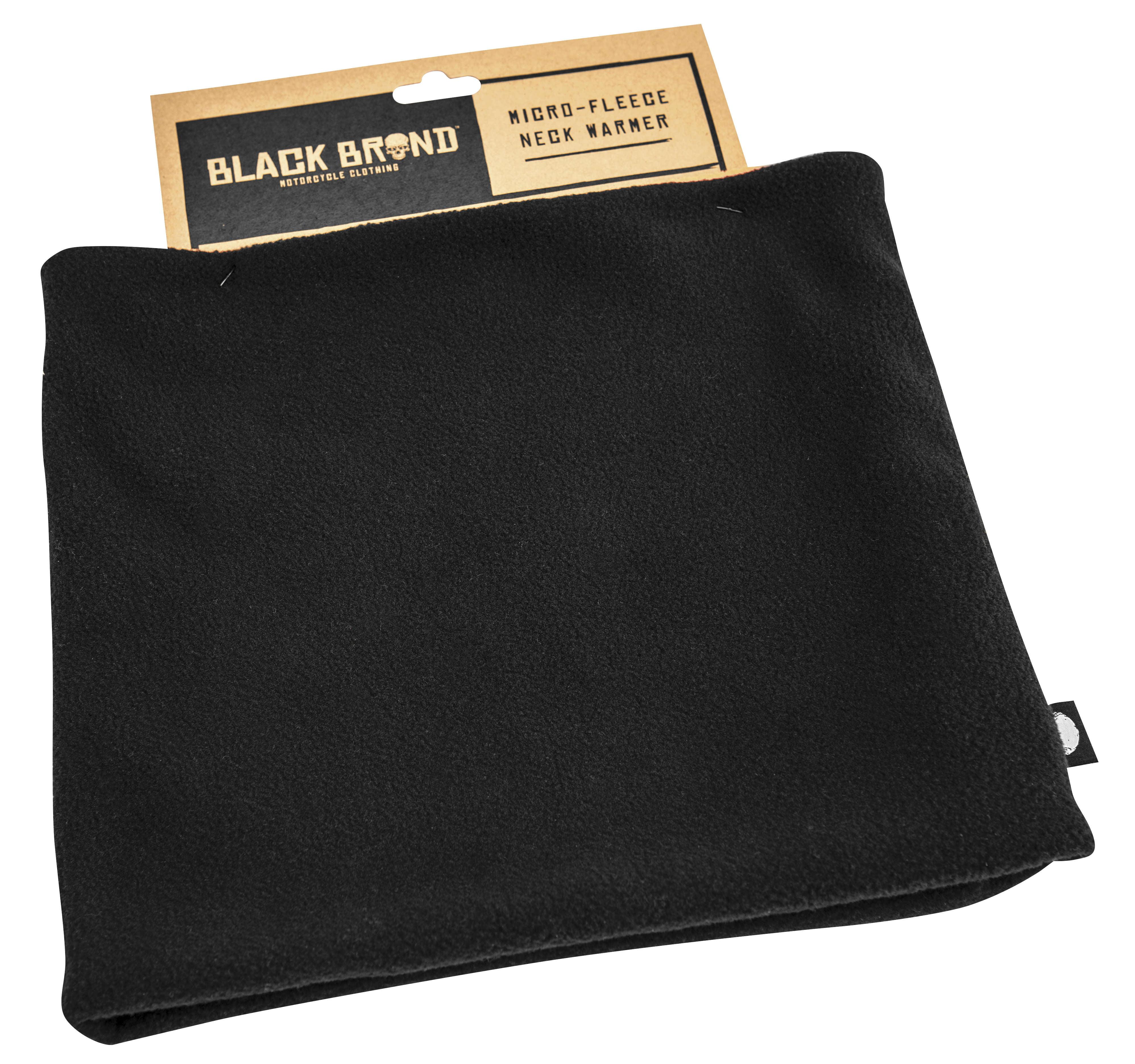 Black Brand Microfleece Neck Warmer (Black, OSFM)