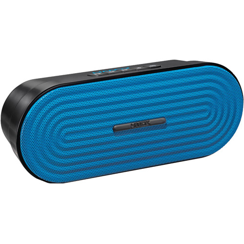 HMDX HX-P205BL Rave Portable Speaker, Blue