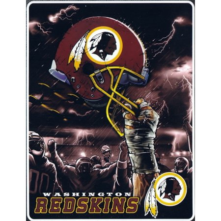 60x80 Plush Raschel Throw Blanket (Washington Redskins Plush Raschel  60x80 Twin Size Throw)