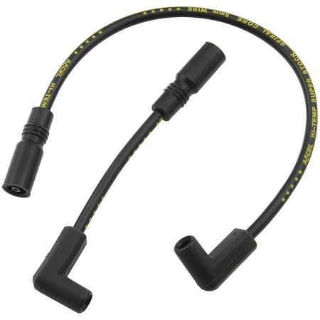 - Accel 171100-K S/S Ferro-Spiral Core Spark Plug Wire - Black