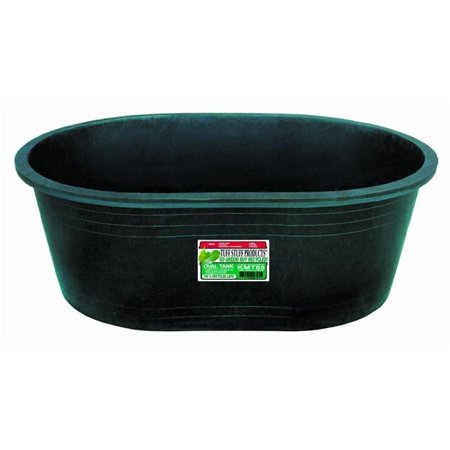 Tuff Stuff Heavy Duty 110 Gallon Oval Water, Feed, or Storage Tank Tub, Green