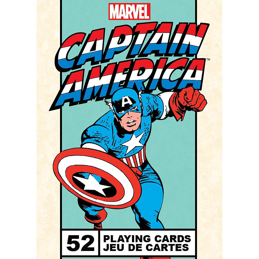 Captain America Playing Cards,  Card Games by NMR Calendars