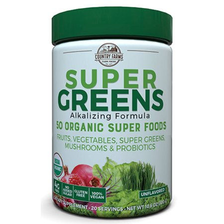 Super Greens Powder, 9.9 Oz, 20 Servings (Packaging May