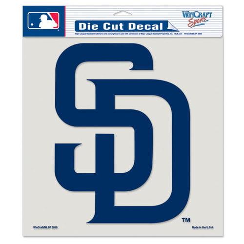 MLB - San Diego Padres 8x8 Die Cut Decal