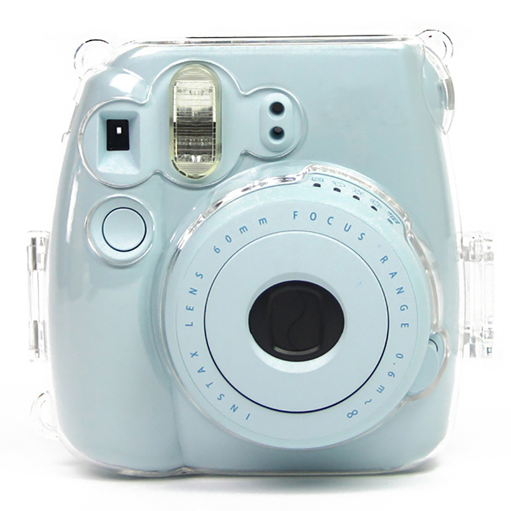 Girl12Queen Durable Transparent Instant Camera Case Cover for Checky Instax Mini 8/8+/9