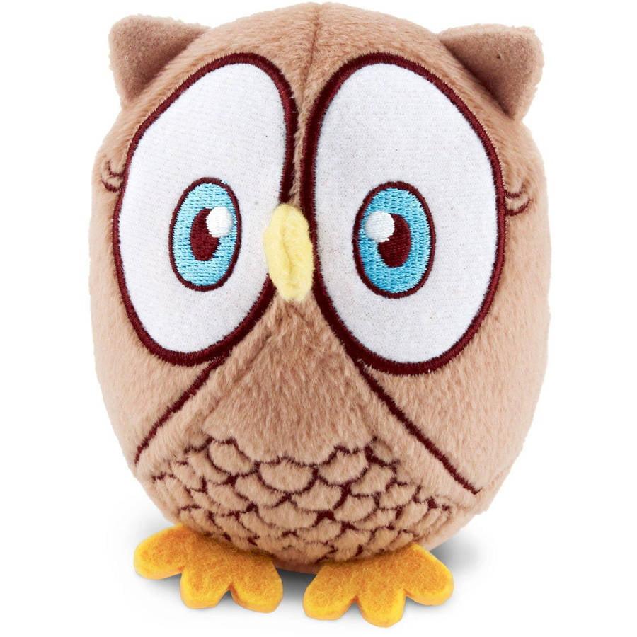 Generic Look Whoo's 1 Owl Stuffed Animal, 4 - Pack