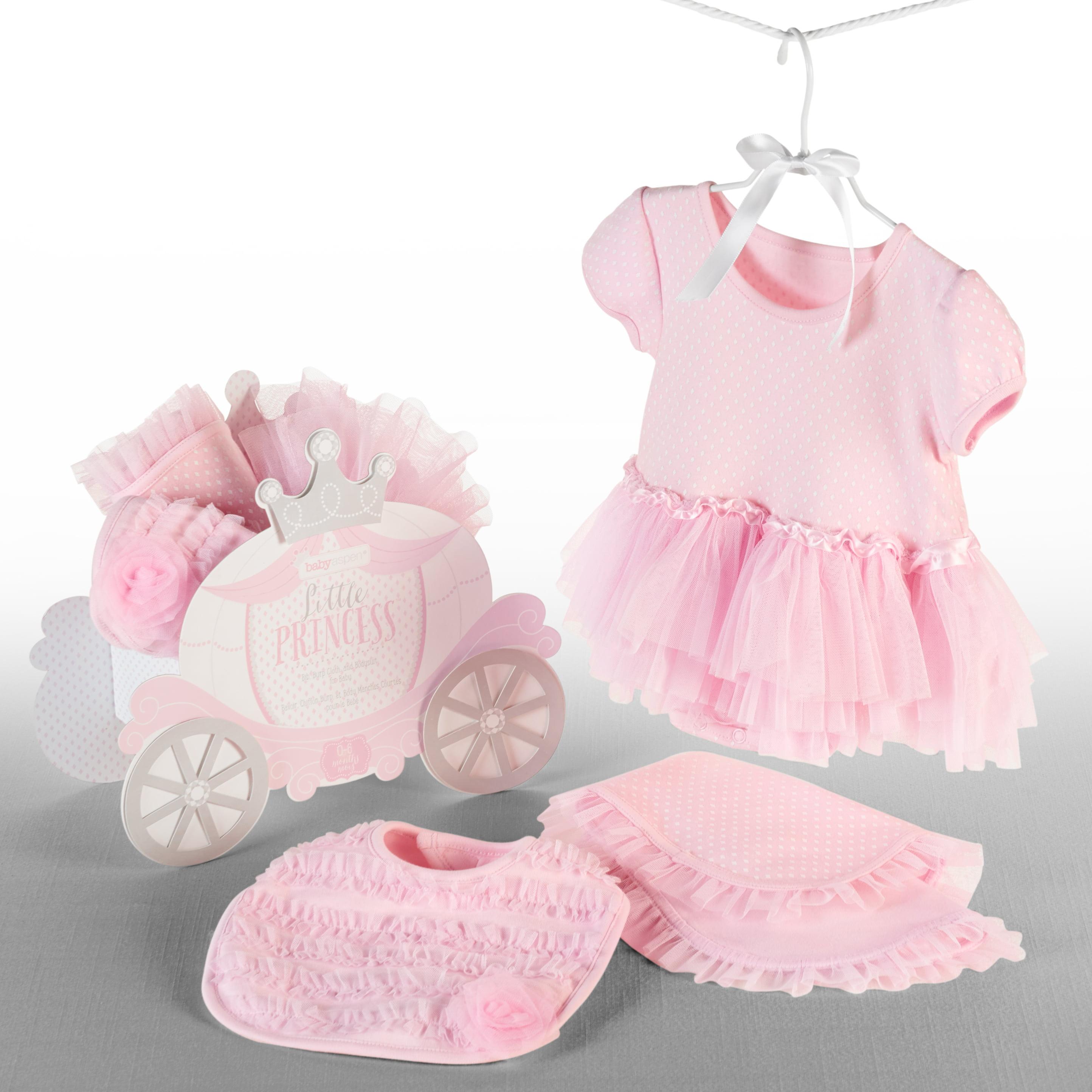 Little Princess Bib, Burp & Bodysuit for Baby