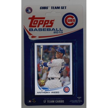 Chicago Cubs 2013 Topps Factory Sealed Special Edition 17 Card Team Set   2016 World Series Champs! ()