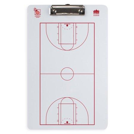 Dry Erase Basketball Coaching Clipboard Crown Sporting Goods - (Crown Basket)