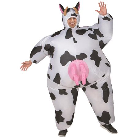 Cow Inflatable Adult Costume](Cute Cow Costumes)