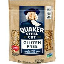 Oatmeal: Quaker Steel Cut Oats Gluten Free