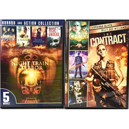 The Contrac /The Fall/Choke/Crosshairs/5-Movie Horror & Action Collection (Best Horror Action Anime)