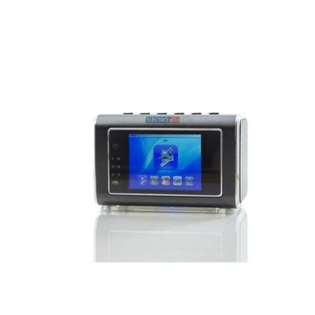 Portable Wireless MicroLens Camera Digital Alarm Clock DVR with Display