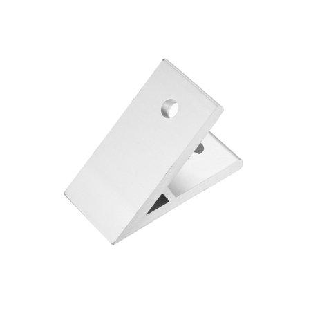 3030 Aluminum Corner Brackets Profile Corner Joint Connectors Corner Braces (45 Degree Angle) 2 Pcs