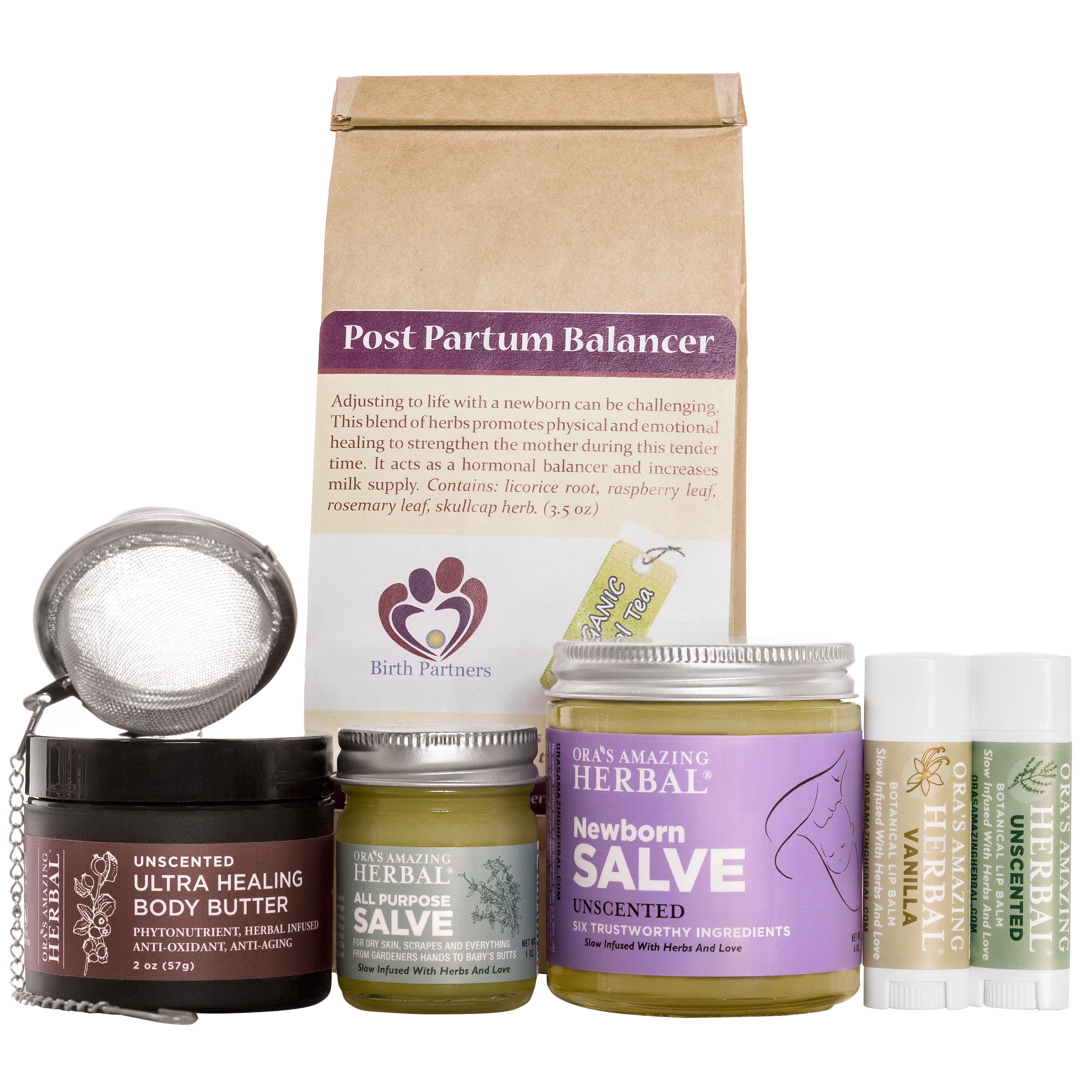 Ora's Amazing Herbal New Mama Gift Box