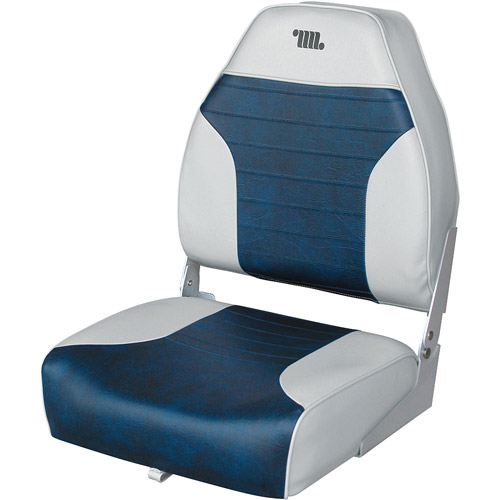 Wise Boat Seat, Gray/Navy