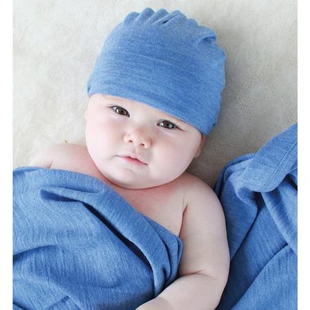 Merino Cocooi Blanket, Bootie, & Hat Set - Banbury (0-3m) - image 2 de 3