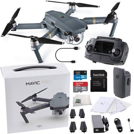 910f840a31d DJI Mavic Pro Collapsible Quadcopter Starters Bundle - Walmart.com