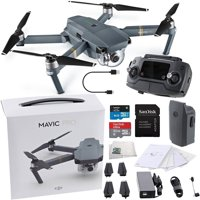 DJI Mavic Pro Collapsible Quadcopter Starters Bundle