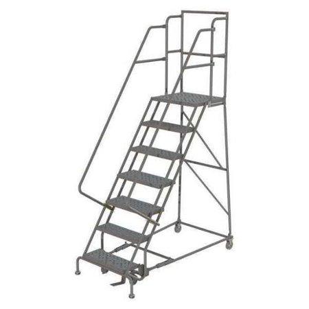 - TRI-ARC KDSR107162-D2 Rolling Ladder,7 Step,Steel,Serrated G0979207