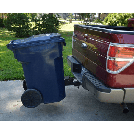 Great Day TC5000 Tote Caddy Trash Can Transporter Hitch Adapter