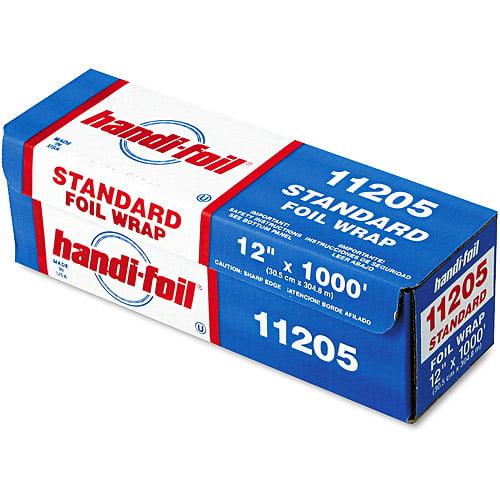 "Durable Packaging Foil Roll 12"" X 1000' Roll Standard Weight Foil"