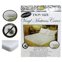 Lot of 12 Twin Mattress Cover Vinyl Zippered Waterproof Bed Bug Dust Protector
